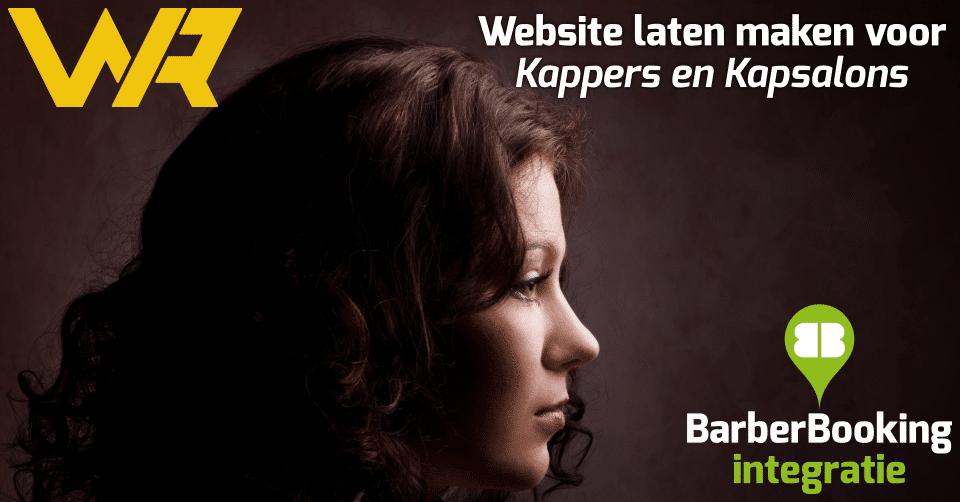 Aanbieding Website laten maken voor Kappers Kapsalons