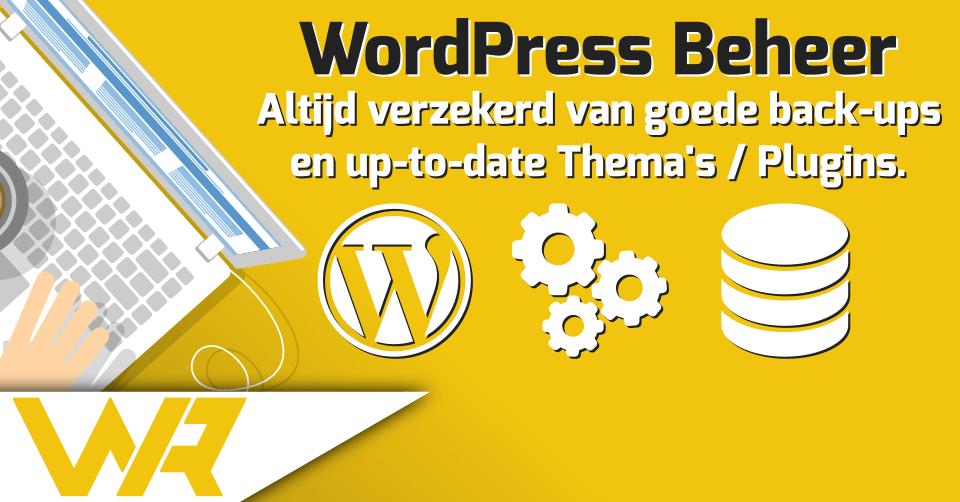 WordPress beheer uitbesteden - WordPress onderhoudscontract
