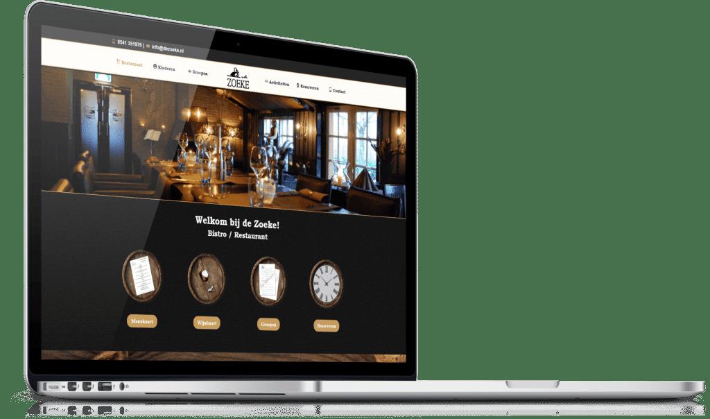 Restaurant website laten maken 1